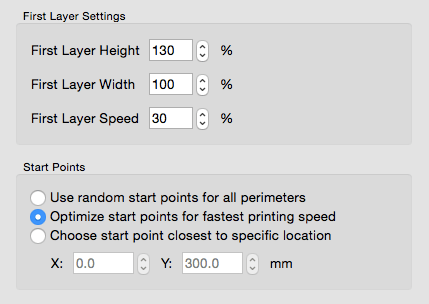 3d slicer first layer settings
