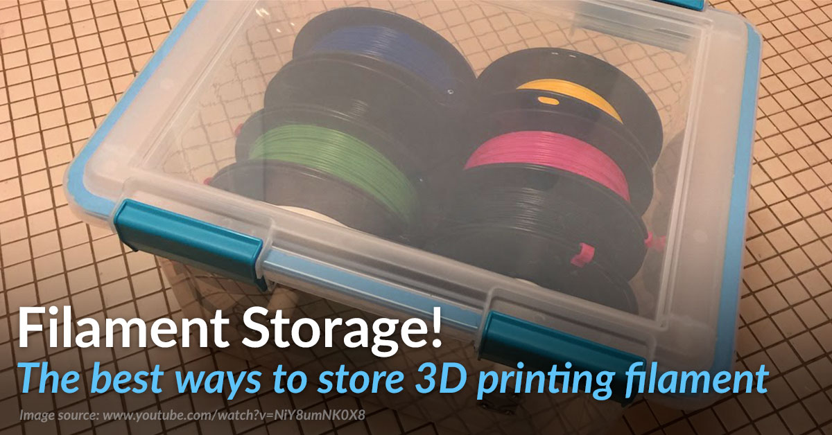 3D Filament Storage – Top 5 Tips!