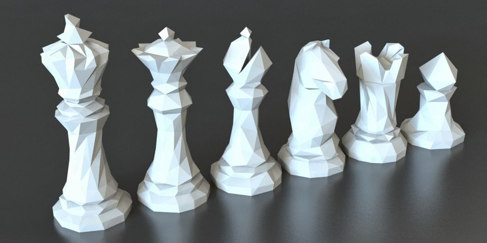 3D designs chess
