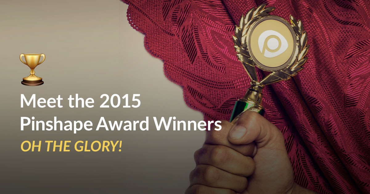 Announcing the Winners of the 2015 Pinshape Awards