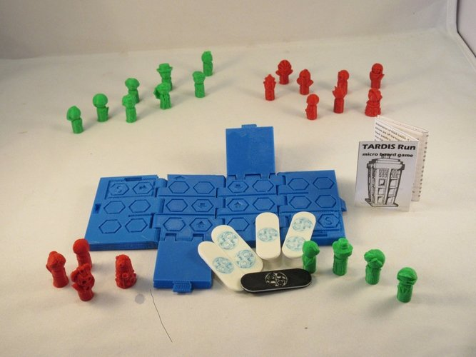 Interesting 3D designs board game