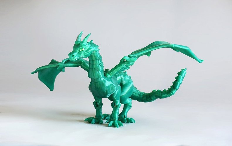 Interesting 3D designs dragon