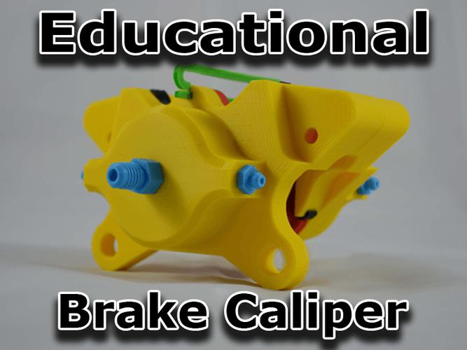 brake caliper 3d printing designs