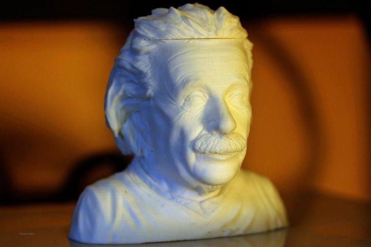 einstein 3d printing designs