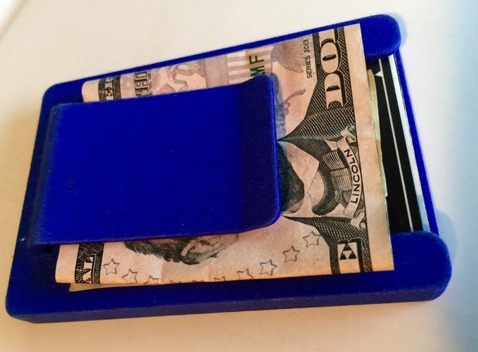 3d print silicone wallet