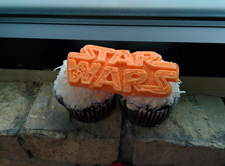 3d print silicone star wars cupcake