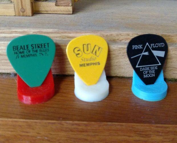guitar pick stand 3d printing designs