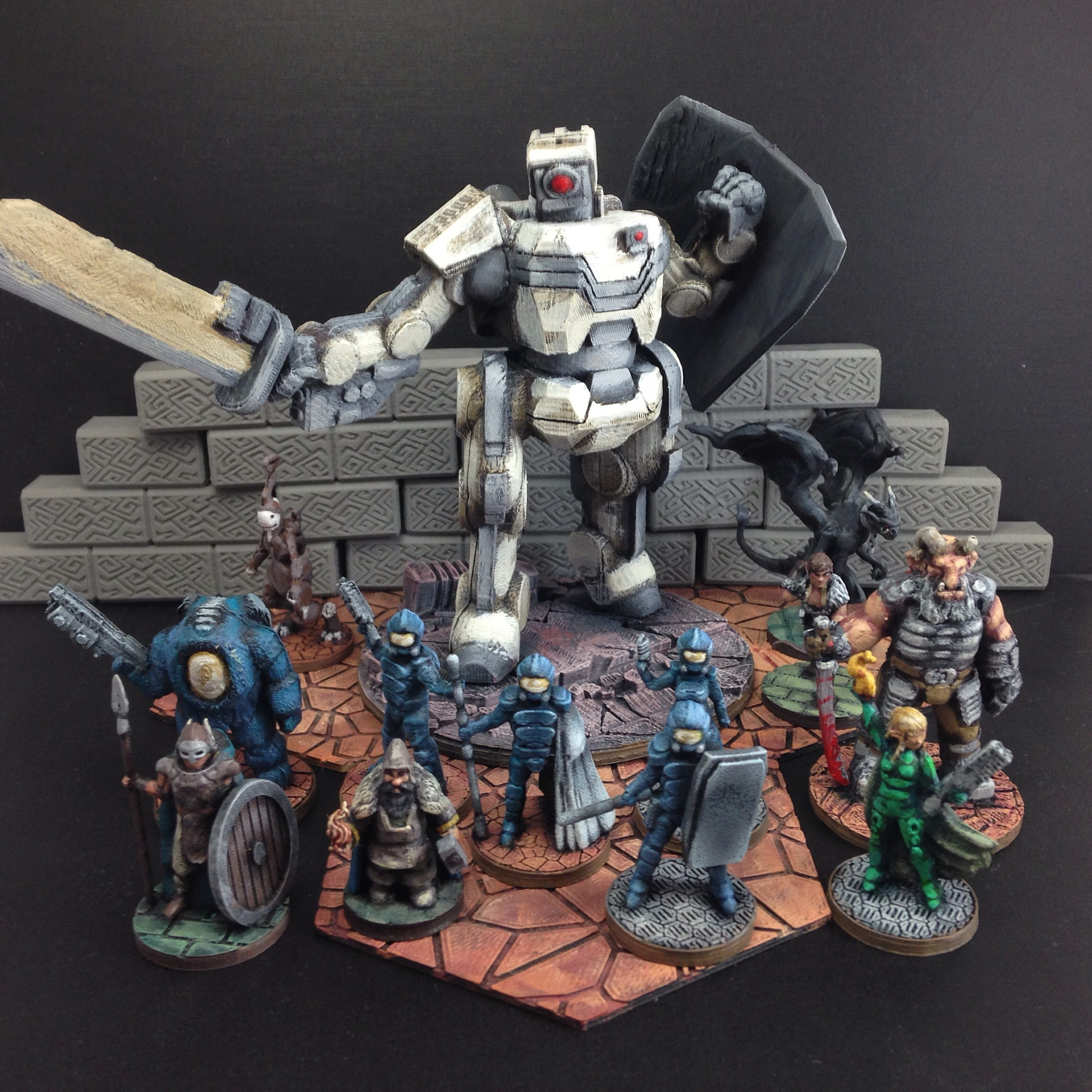 custom miniatures