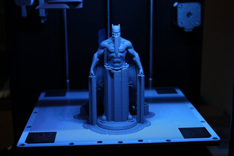 Green 3D Printing batman