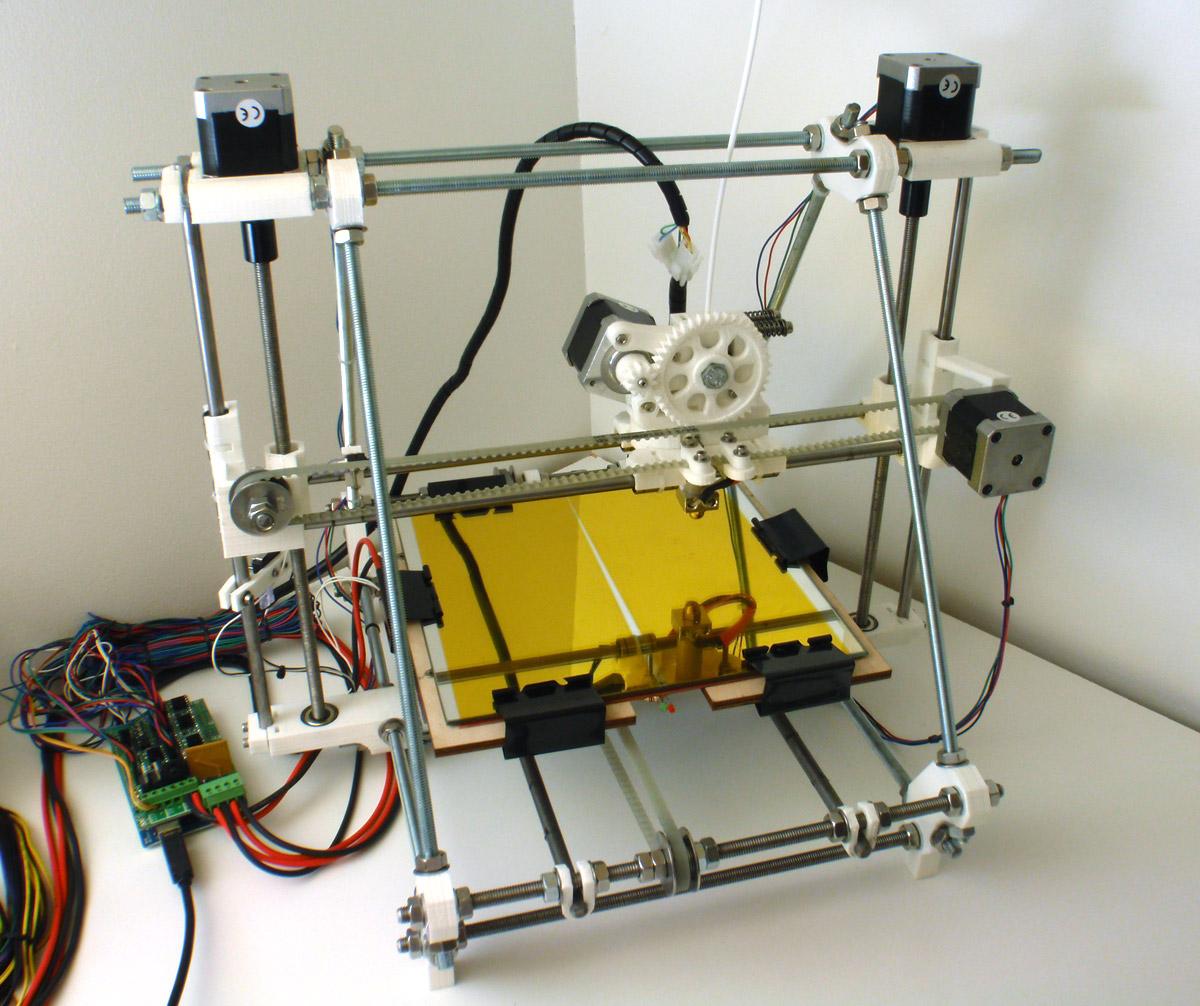 reprap prusa no enclosure 3D Printer Enclosure