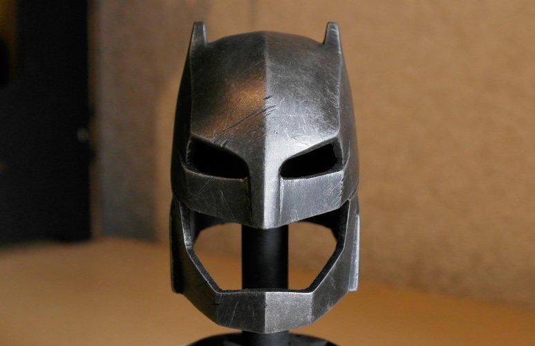 batman vs superman helmet 3d printer designs