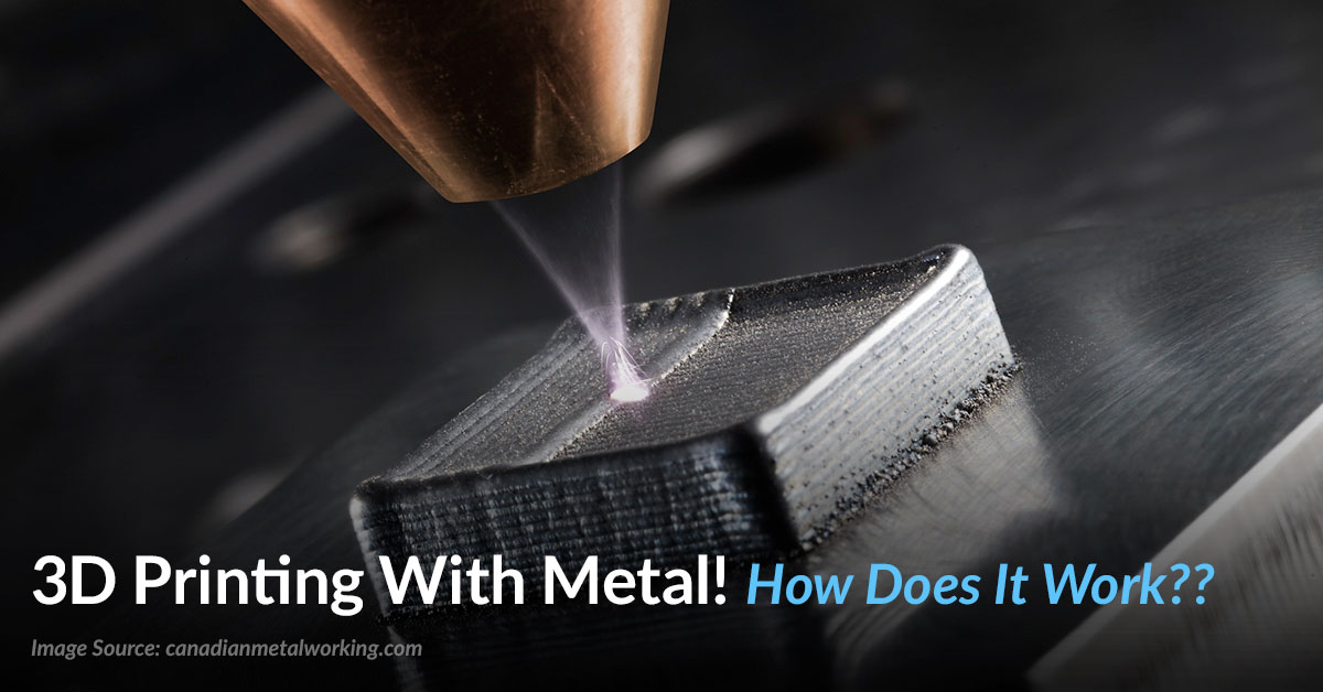 Learn how 3d printing metal works – Top 3 ways!