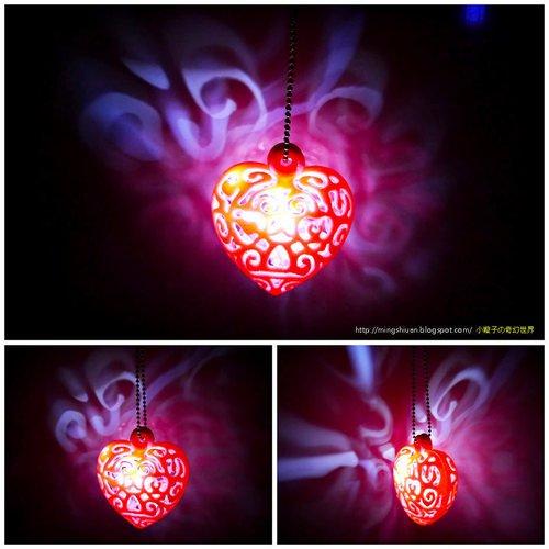 heart light pinshape 3d printing designs