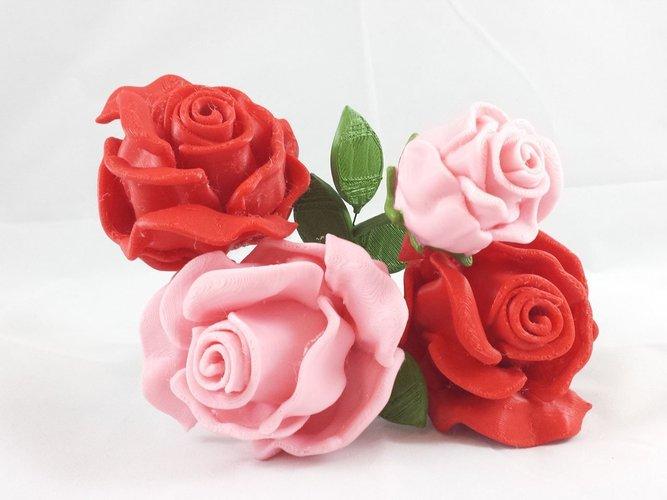 roses 3d printing tanya wiesner pinshape 3d printing designs
