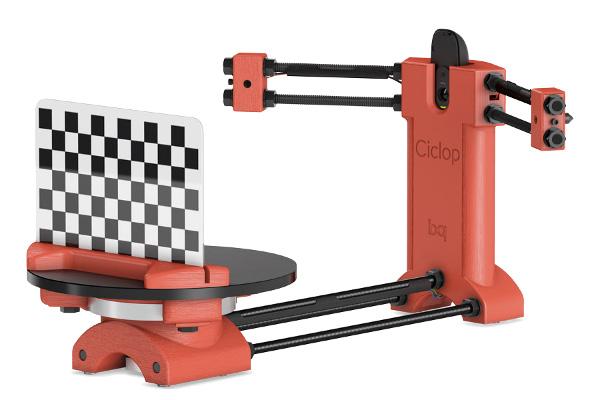 pinshape-aniwaa-bq-ciclop 3d scanner