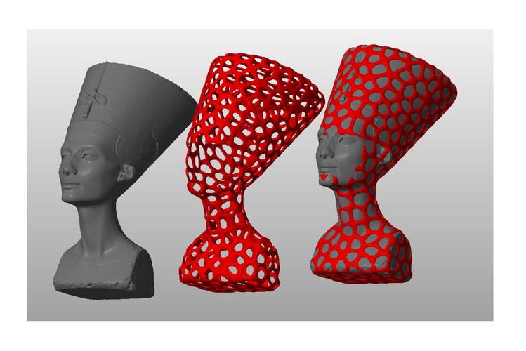 nefertiti dual 3d designs
