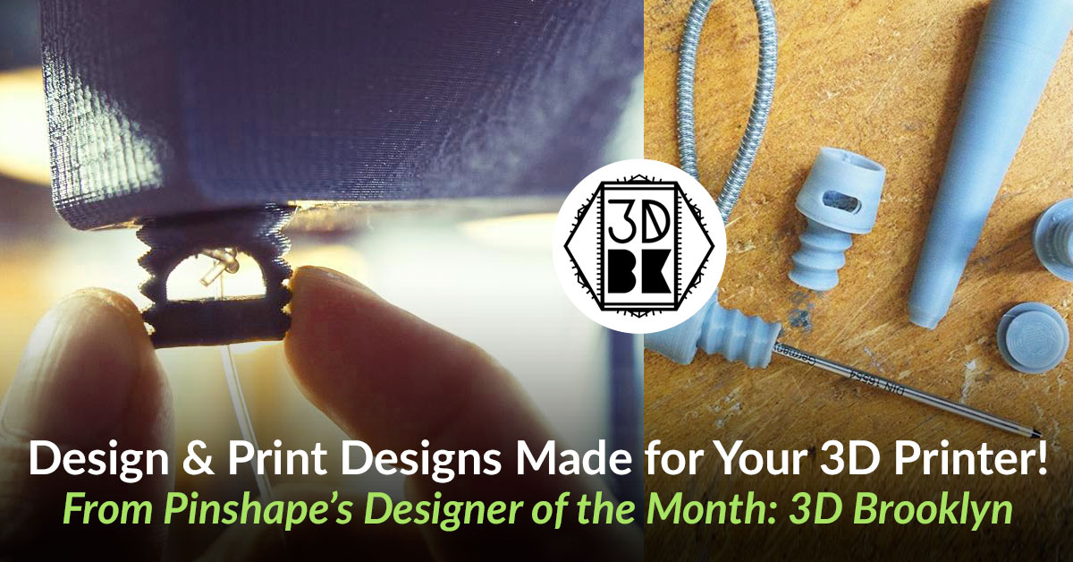 3D Brooklyn feature: Design and 3D Printer Calibration!