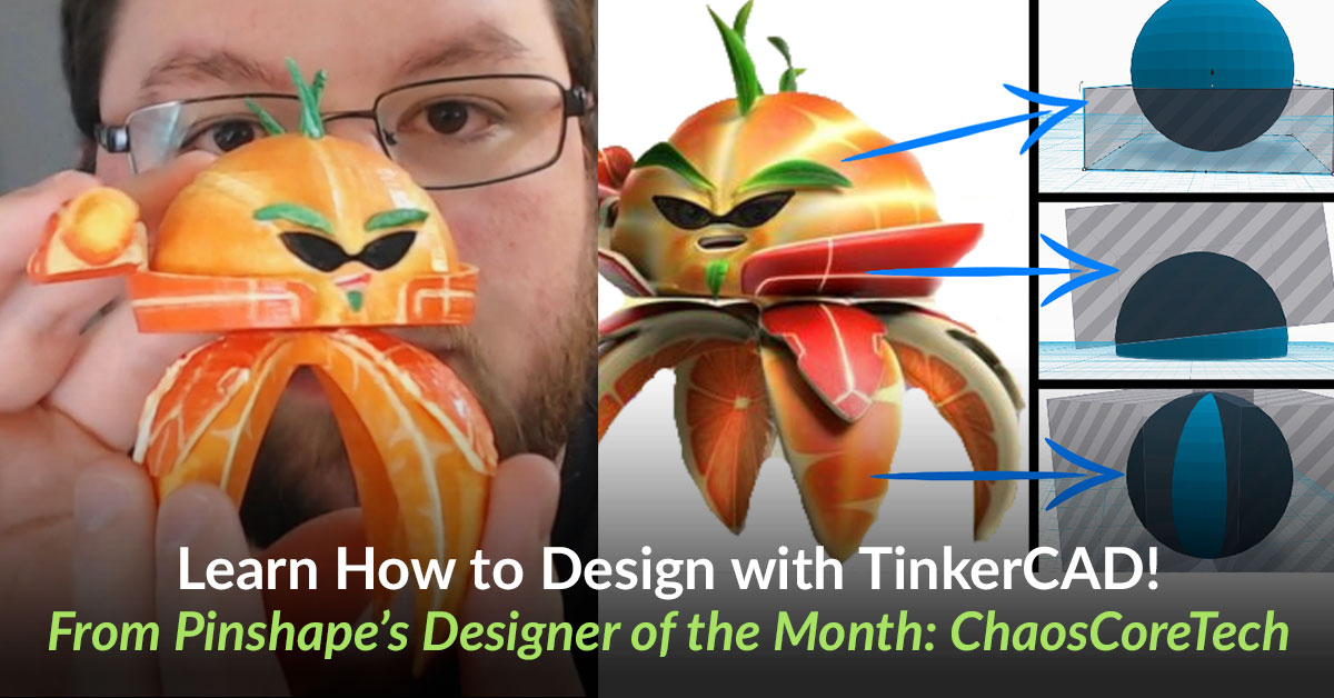 Complex models on Tinkercad with DOTM: ChaosCoreTech