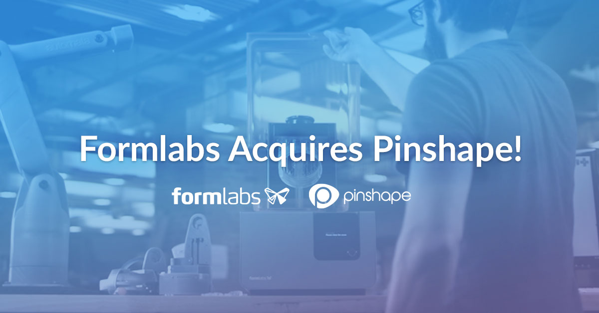 Exciting News! Formlabs is Acquiring Pinshape!