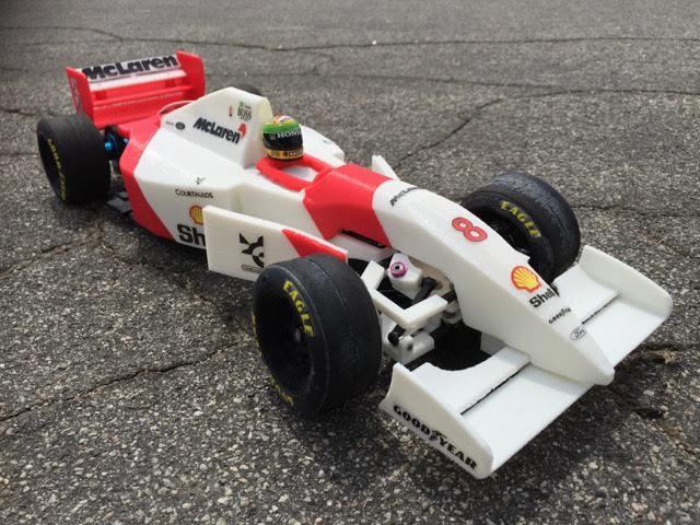 3D printing tools Ayrton Senna's 1993 McLaren