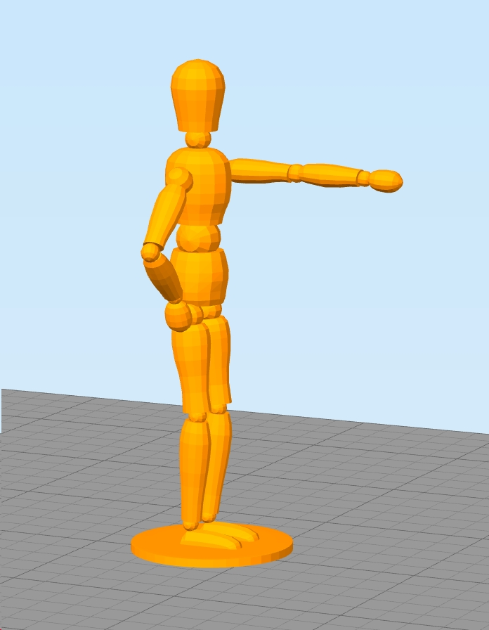 model to print 3d printer support structures