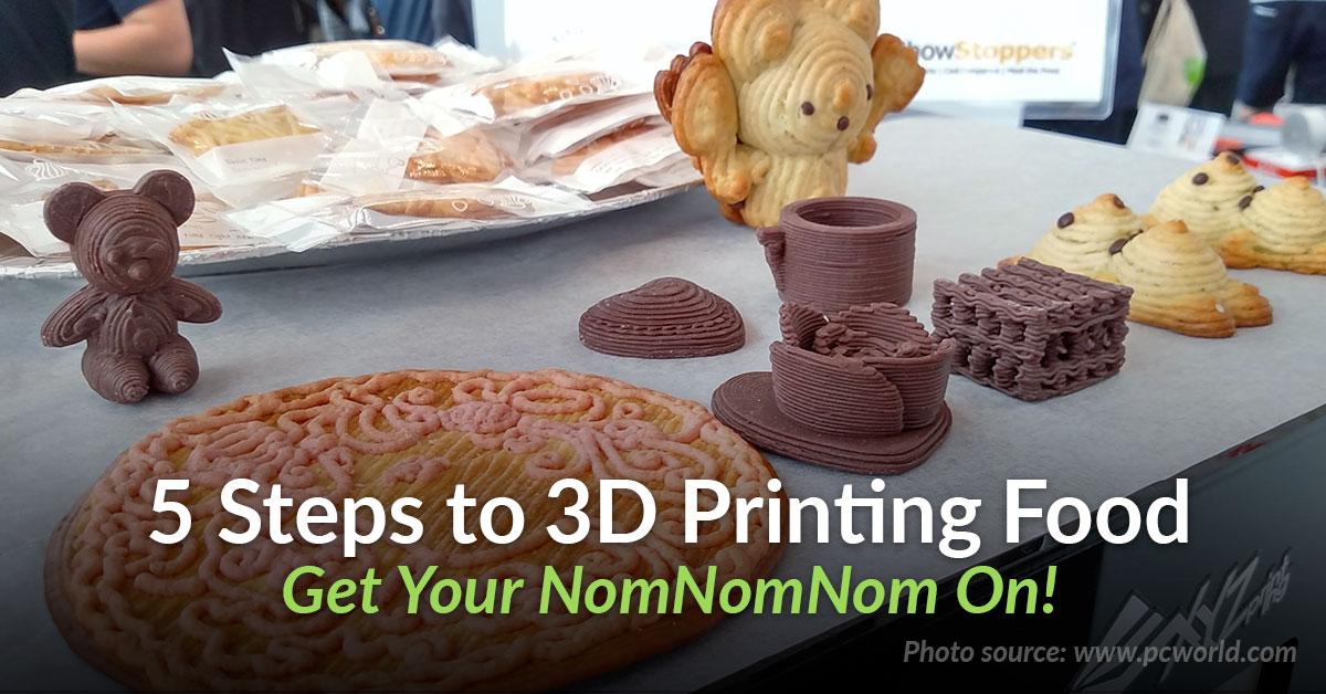 5 Step Beginners Guide to 3D Printing Food