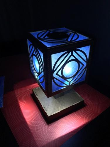 Holocron Lamp