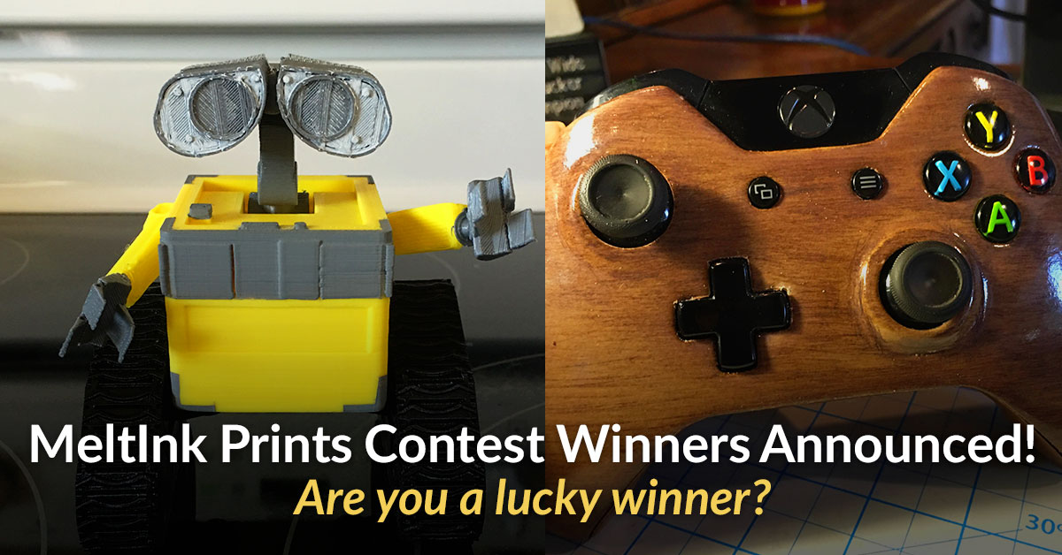 Meltink3D Print Contest Winners Announced!