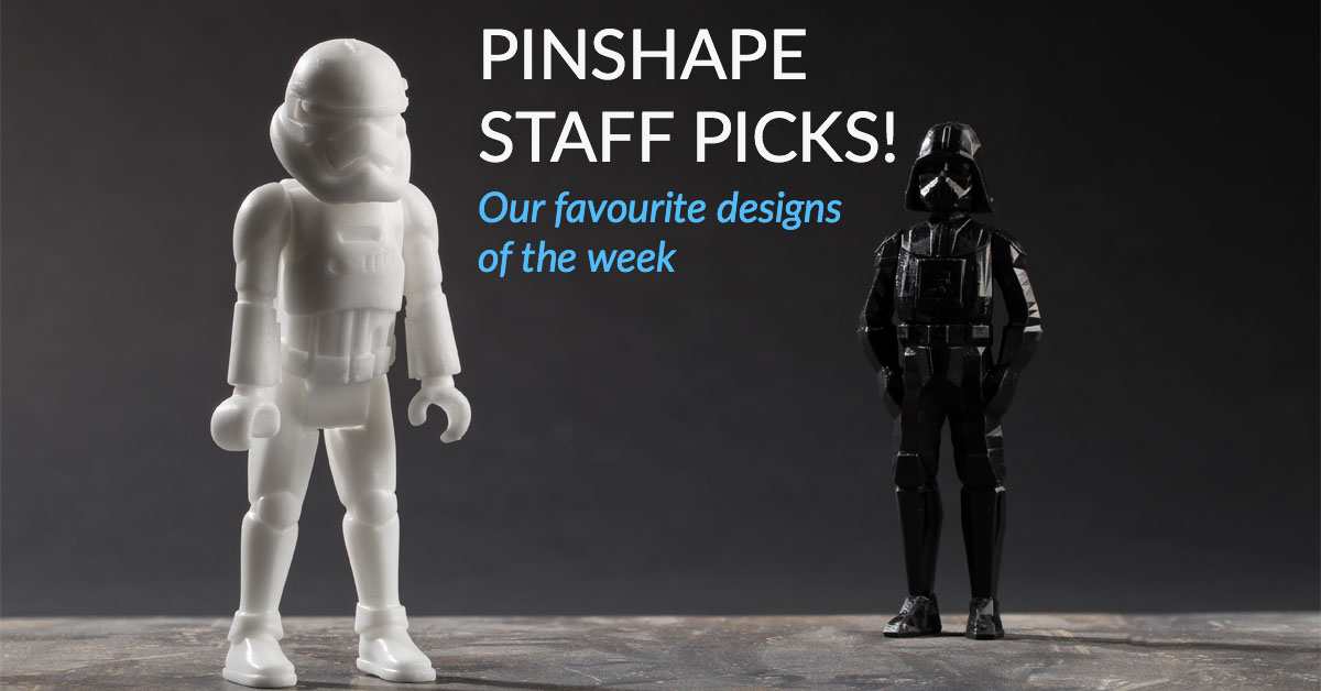 Pinshape Staff Picks! – July 8th