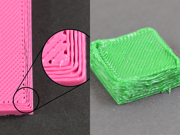 under/over extrusion