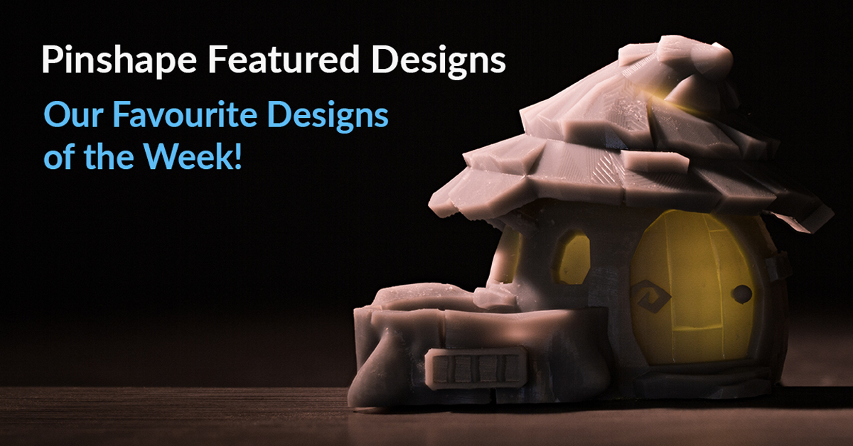 Pinshape's Featured Designs! – July 29th