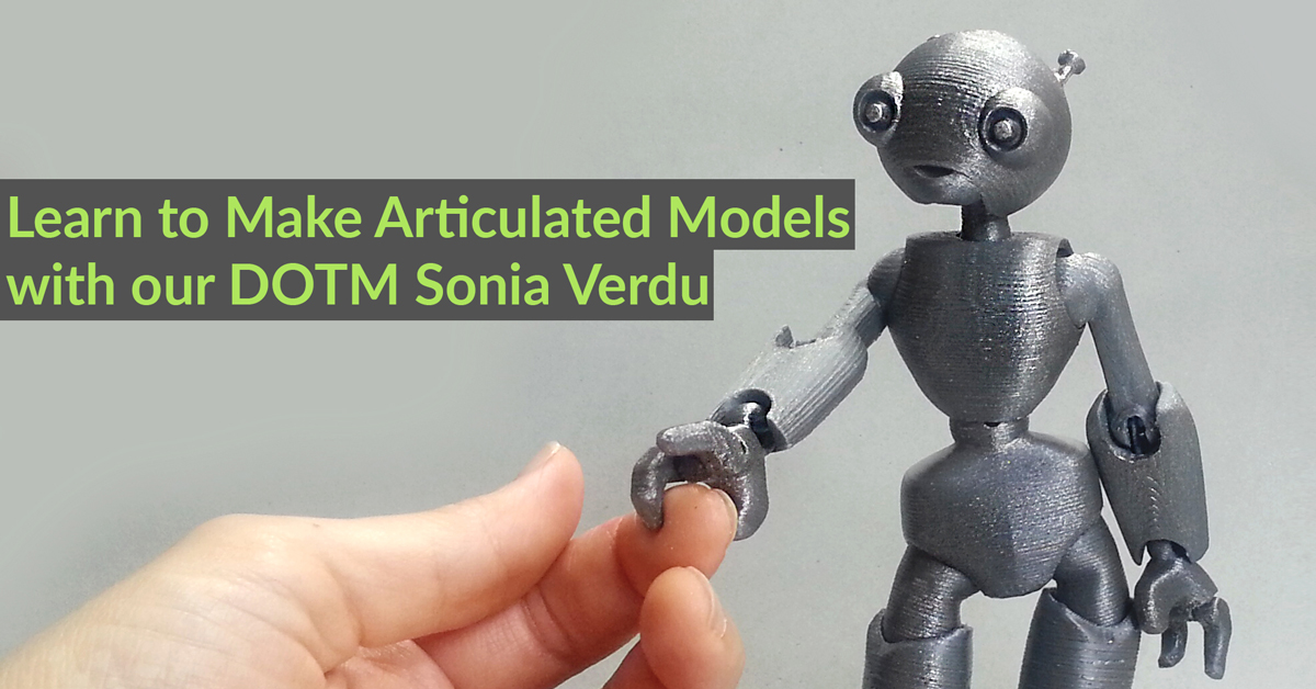 Key Considerations when 3D Designing Articulated Models