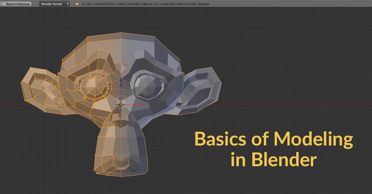 Fundamentals of 3D Designing in Blender |