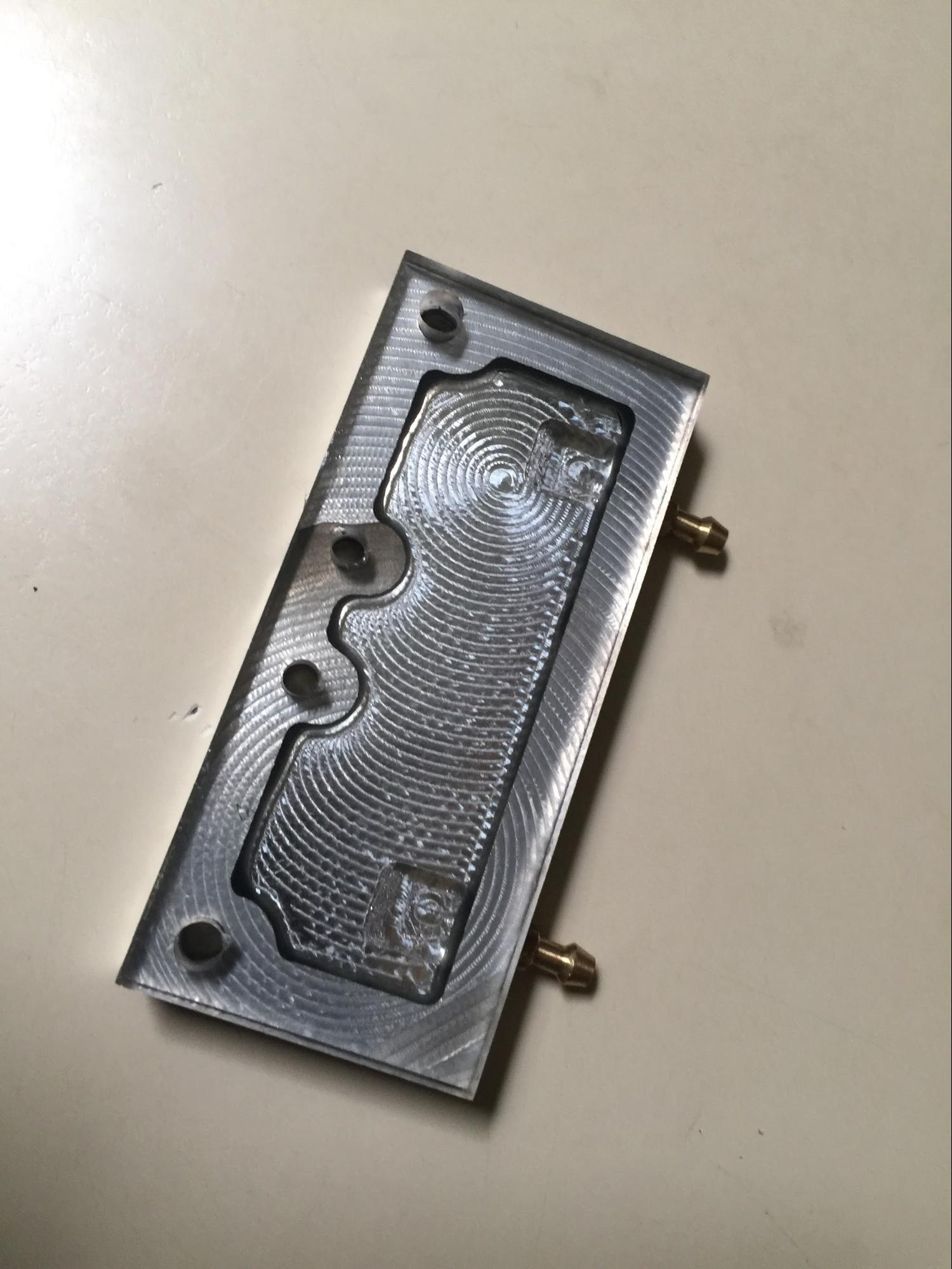 cnc milling water block