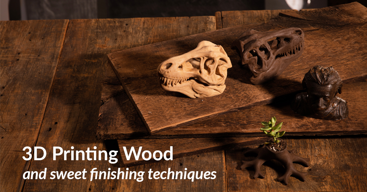 3D Printing Wood – Try These Sweet Finishing Techniques!