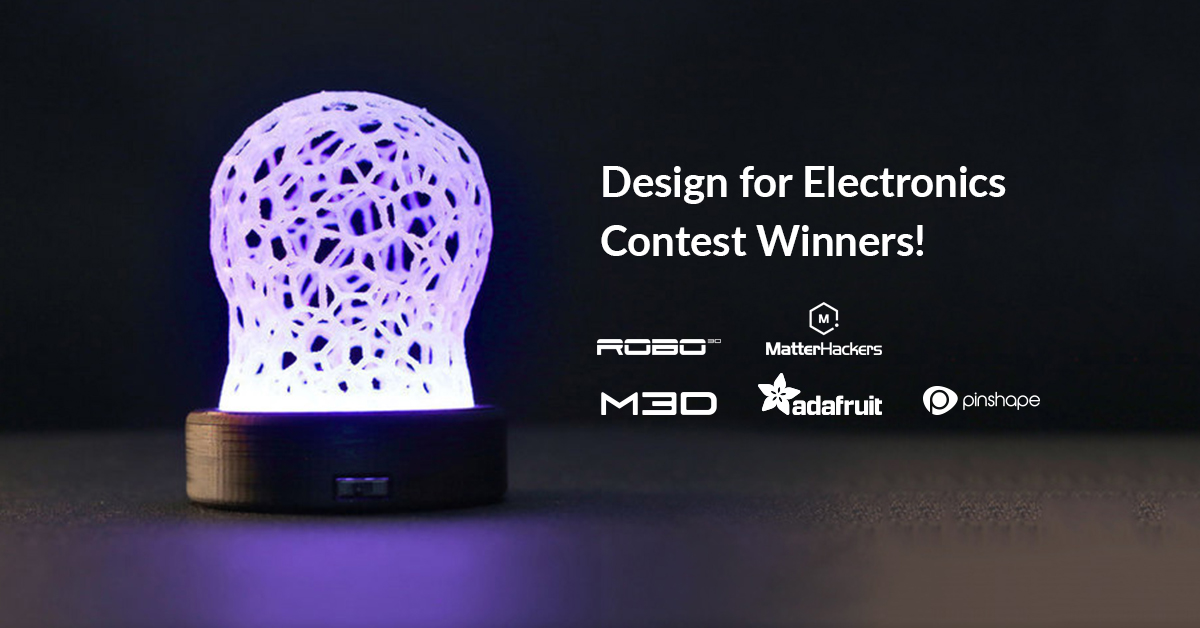 Find Out Who Won the Electronics Design Contest!
