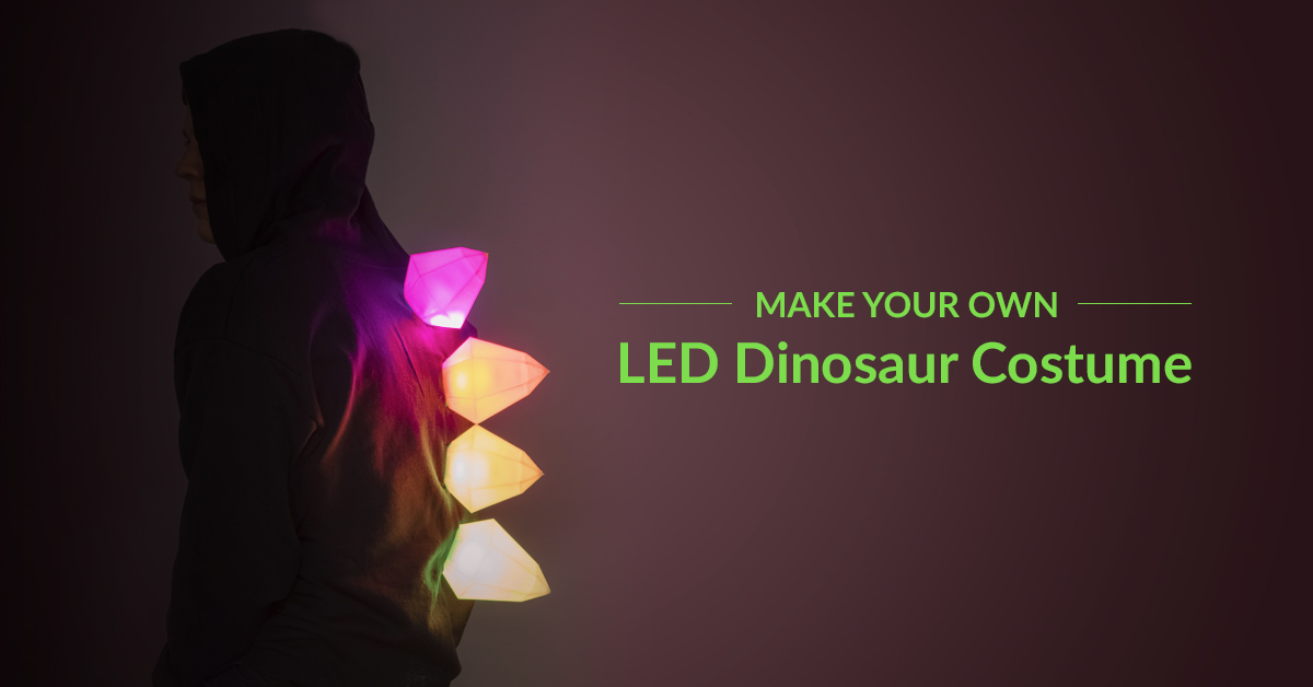 Get Started with Electronics by Creating this Dinosaur Costume