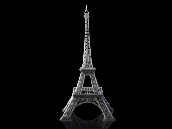 eiffel-tower 3d printing large objects