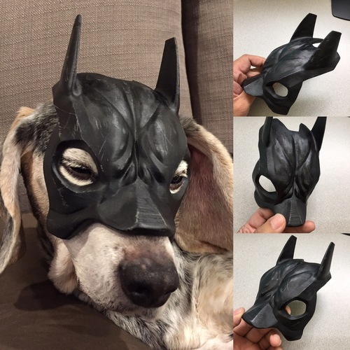 Cosplay 3D Design batman mask