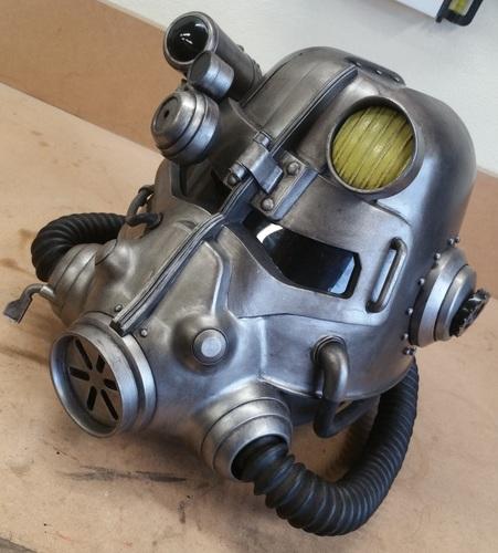 Cosplay 3D Design fallout helmet