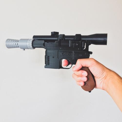 Cosplay 3D Design han solo pistol