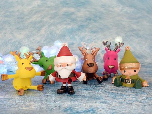 christmas 3d designs toys