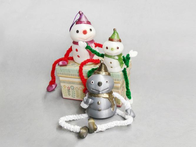christmas 3d designs toy snow man