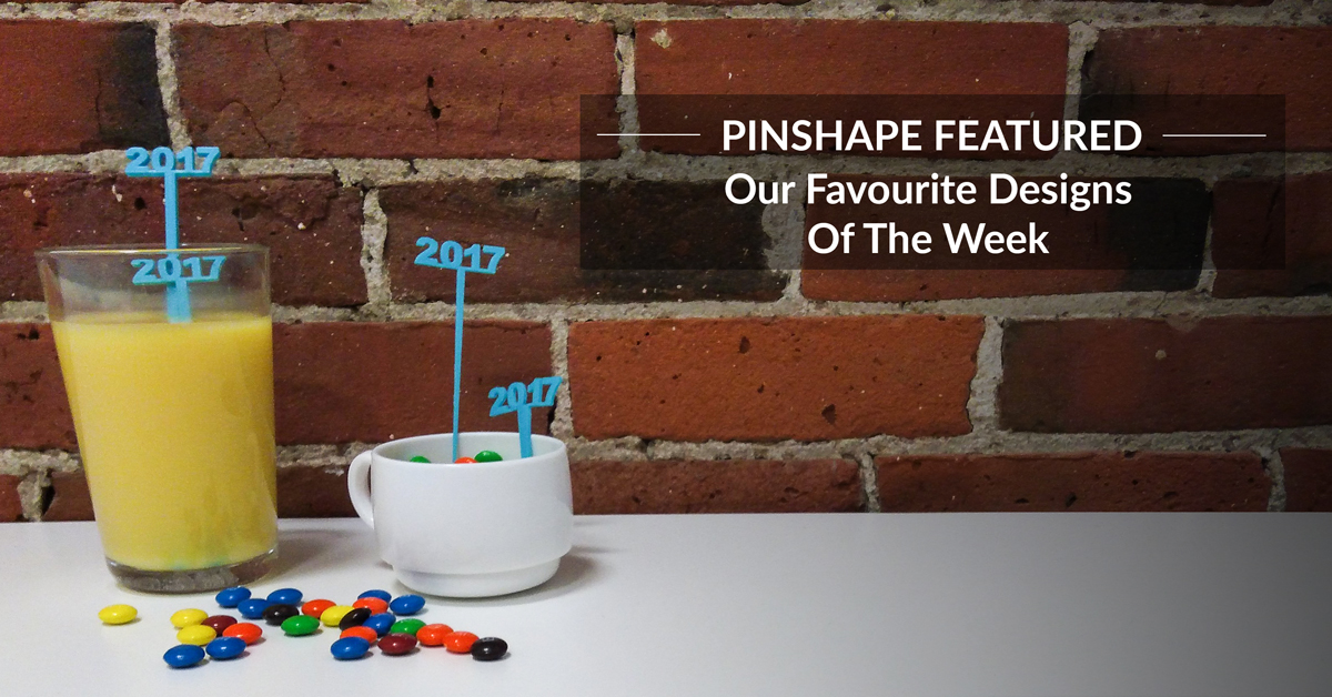 Pinshape's Featured Designs – December 30th