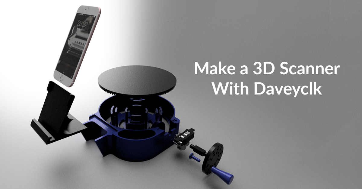 How To Make a $30 DIY 3D Scanner