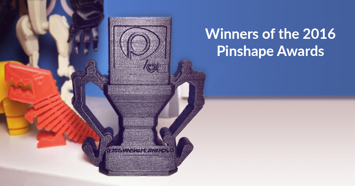 Pinshape Awards Winners Announced!