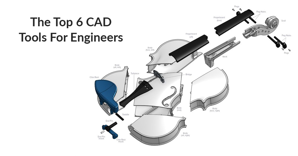 Top 6 3D Design Software for Engineers