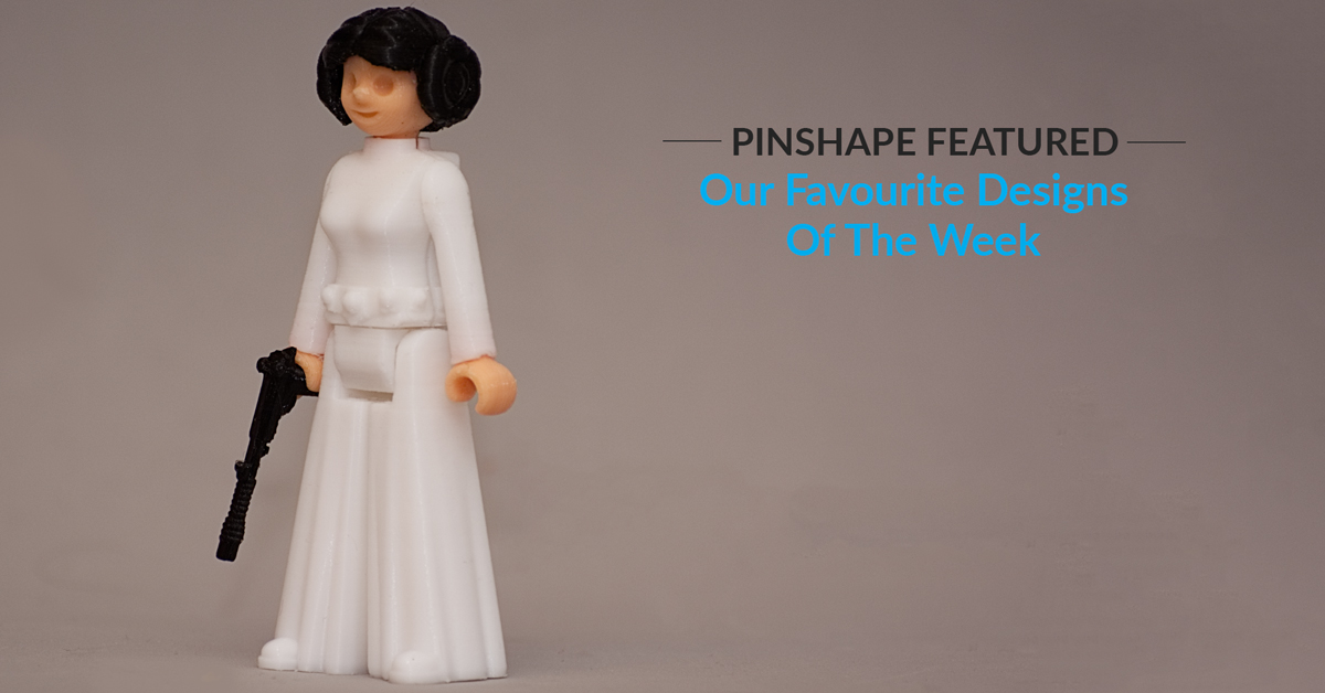 Pinshape Featured Designs – February 3rd
