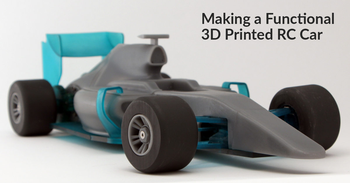 How to Make Your Own 3D Printed RC Car!
