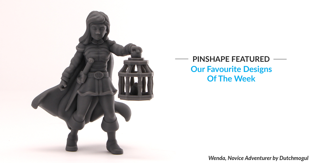 Pinshape Featured Designs – February 24th